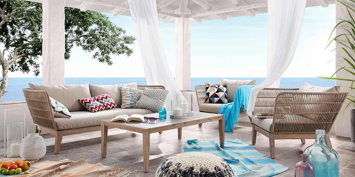 5 id es pour meubler votre ext rieur avec inspiration for Meubler une terrasse