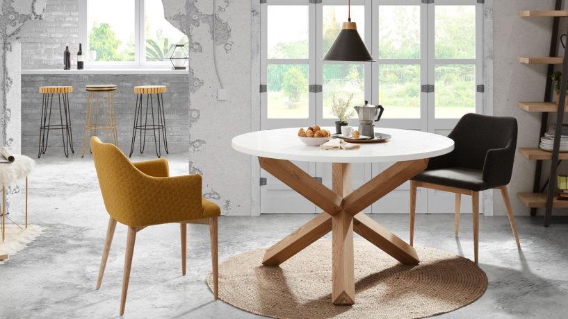 3 nouvelles gammes de chaises design dont la douce géométrie vous fera craquer !