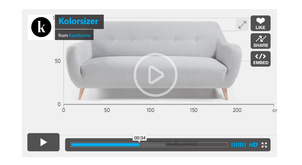 Kolorsizer, trouvez votre canapé en 2 clics