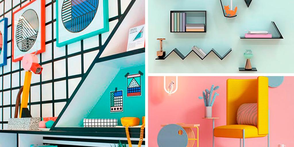 Memphis : géométrie, couleur et beaucoup de créativité