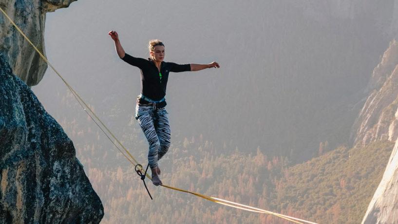 Slackline : trouvez votre équilibre