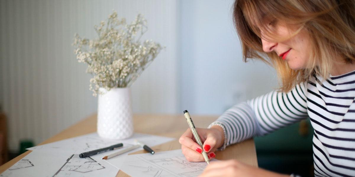 Marelle deco design, une jeune architecte d'intérieur en Freelance