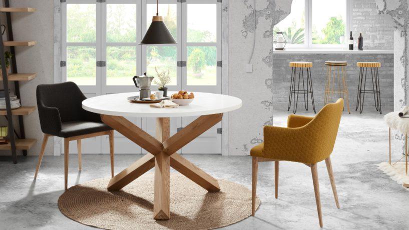 3 nuevas sillas con inspiración geométrica