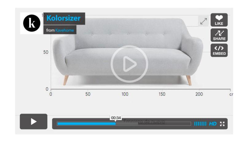 Kolorsizer o cómo escoger el sofá perfecto