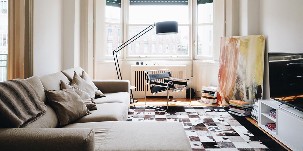 Nell'appartamento milanese di Marc Forné