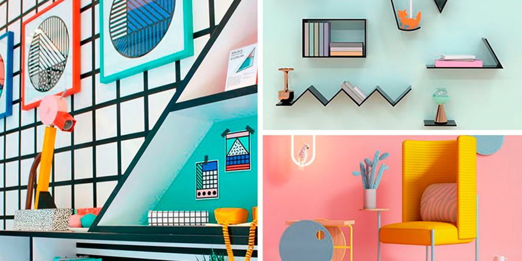 Memphis: geometry, color and lots of creativity