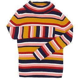 Bluză pentru copii cu mânecă lungă și guler - TU