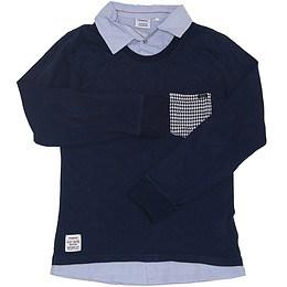 Bluză pentru copii cu mânecă lungă și guler - Primigi
