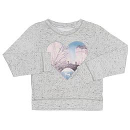 Bluză pentru copii cu mânecă lungă - Abercrombie & Fitch