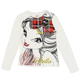 Bluză imprimeu pentru copii - Piazza Italia