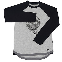 Bluză pentru copii cu mânecă lungă - Oxylane
