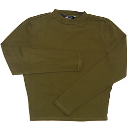 Bluză pentru copii cu mânecă lungă și guler - New Look