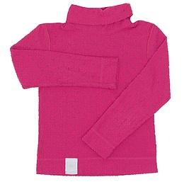 Bluză pentru copii cu mânecă lungă și guler - Wed'ze