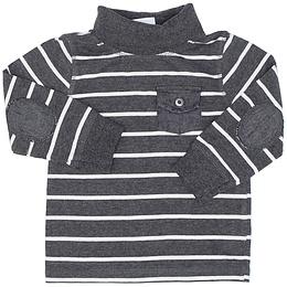 Bluză pentru copii cu mânecă lungă și guler - Topomini