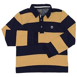 Bluză pentru copii cu mânecă lungă și guler - Timberland