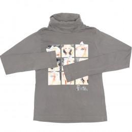 Bluză pentru copii cu mânecă lungă și guler -