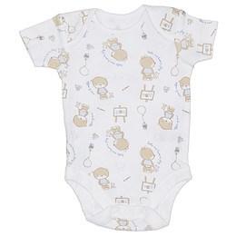 Body bebe cu mânecă scurtă - George