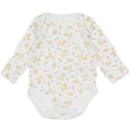 Body bebe cu mânecă lungă - Nutmeg