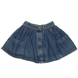 Fustă copii din material jeans (blugi) - John Lewis