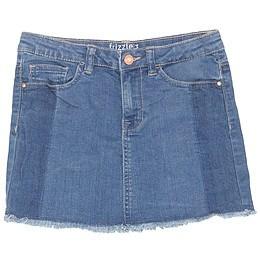 Fustă copii din material jeans (blugi) - Bel&Bo