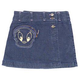 Fustă copii din material jeans (blugi) -