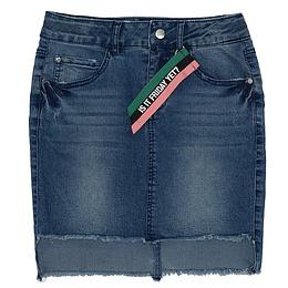 Fustă copii din material jeans (blugi) - Reserved