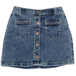 Fustă copii din material jeans (blugi) - Nutmeg