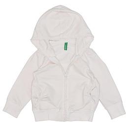 Hanorac cu glugă și fermoar pentru copii - Benetton