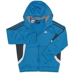 Hanorac cu glugă și fermoar pentru copii - Adidas