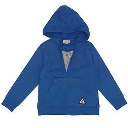 Hanorac cu glugă pentru copii - Blue Seven