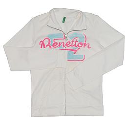 Hanorac cu fermoar pentru copii - Benetton