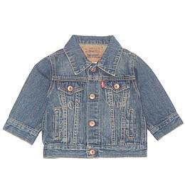 Jachetă copii din material jeans (blugi) - Levi's