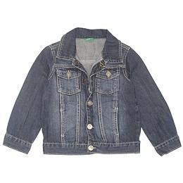 Jachetă copii din material jeans (blugi) - Benetton