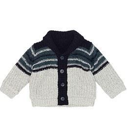 Jachetă tricotată pentru copii - Nutmeg