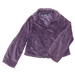 Jachetă copii din material catifea - Benetton