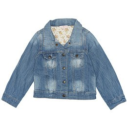 Jachetă copii din material jeans (blugi) - Girl2Girl