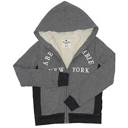 Jachetă cu glugă pentru copii - Abercrombie & Fitch