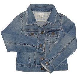 Jachetă copii din material jeans (blugi) - Monsoon
