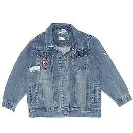 Jachetă copii din material jeans (blugi) - Dopodopo