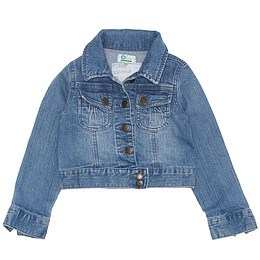 Jachetă copii din material jeans (blugi) - Vertbaudet
