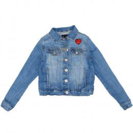 Jachetă copii din material jeans (blugi) - Bel&Bo