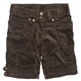 Pantaloni scurți din material catifea - Mexx