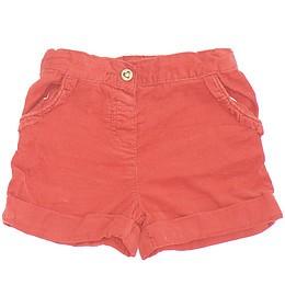 Pantaloni scurți din material catifea - TU