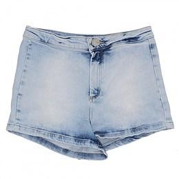 Pantaloni scurţi din material jeans - Topshop
