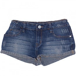 Pantaloni scurţi din material jeans - Miss Evie