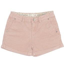 Pantaloni scurți din material catifea - Zara