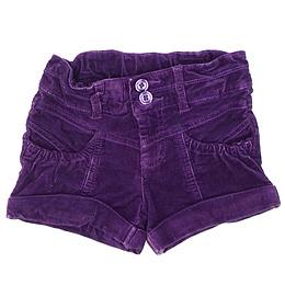 Pantaloni scurți din material catifea - Okay