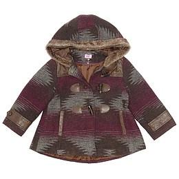 Paltonaș cu glugă pentru copii - F&F