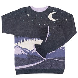 Pulover cu imprimeu pentru copii - Marks&Spencer