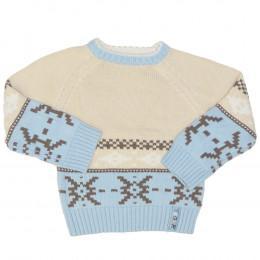 Pulover tricotat pentru copii -